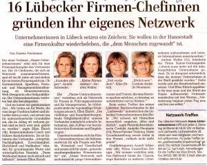 Lübecker Nachrichten vom 25.3.2011